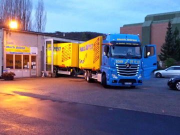 Mathias Düren Transporte, Logistik, Lagerung, Spedition