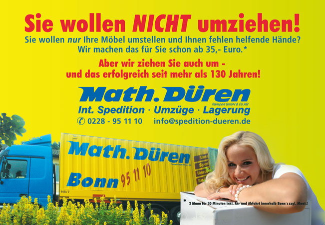 Internationale Spedition, Umzüge, Lagerung